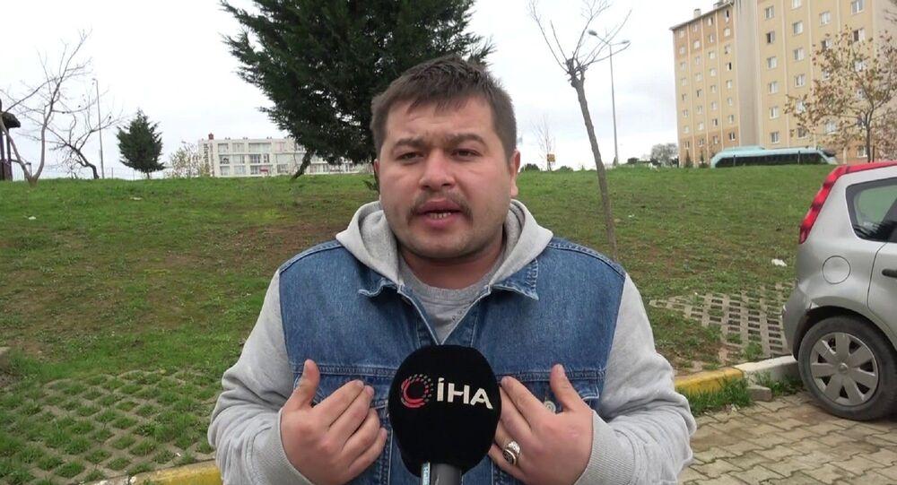 Tuzla'da denetim sırasında maskesiz olduğu için hakkında işlem yapılan daha sonra Bana teşkilatın numarasını verin sözleriyle uzun süre gündem olan kurye Cihan Aksu,