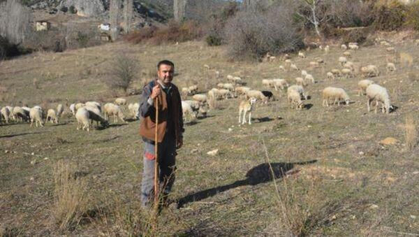 Koronavirüsten kaçıp 9 aydır köyde yaşayan Selahattin Çak - Sputnik Türkiye
