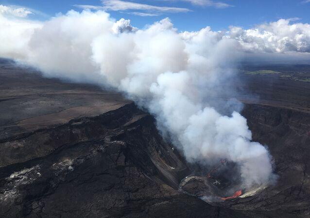 Kilauea Yanardağı, Hawaii