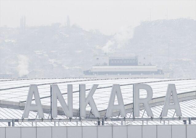 Ankara - kar yağışı