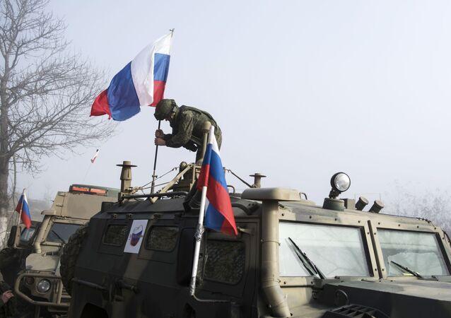 Rus barış güçleri, Şuşa girişi