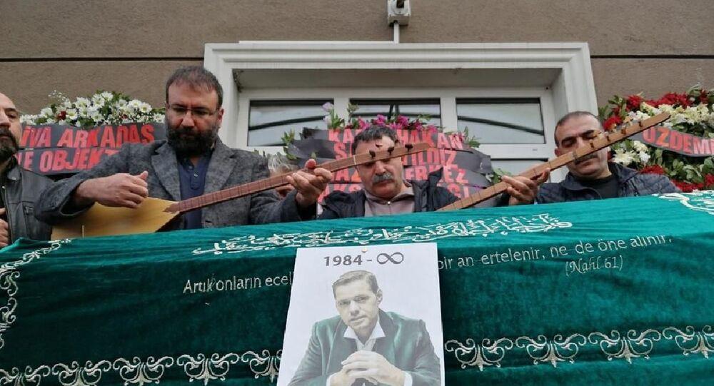 Müzisyen Engin Nurşani son yolculuğuna uğurlandı