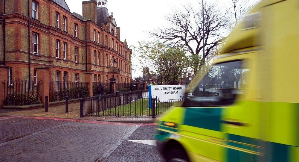 İngiltere ambulans