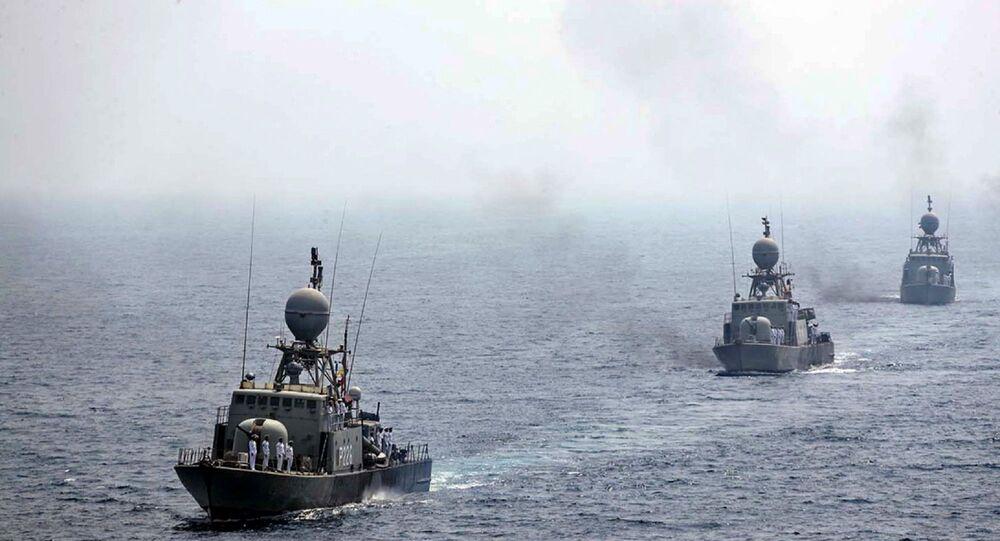 İran donanma gemileri