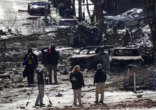 ABD'nin Nashville kentindeki patlama