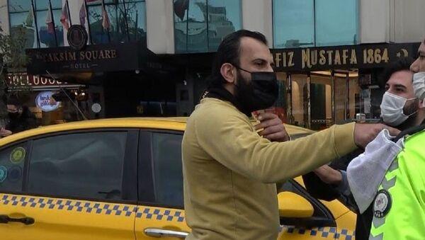 Taksim-turist-polis - Sputnik Türkiye