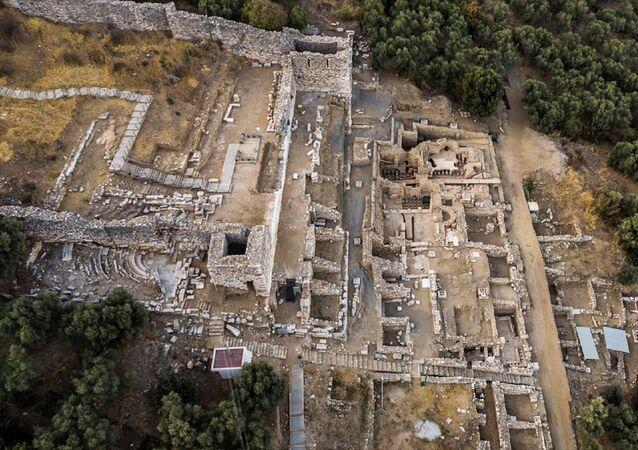 Metropolis Antik Kenti kazı çalışmaları