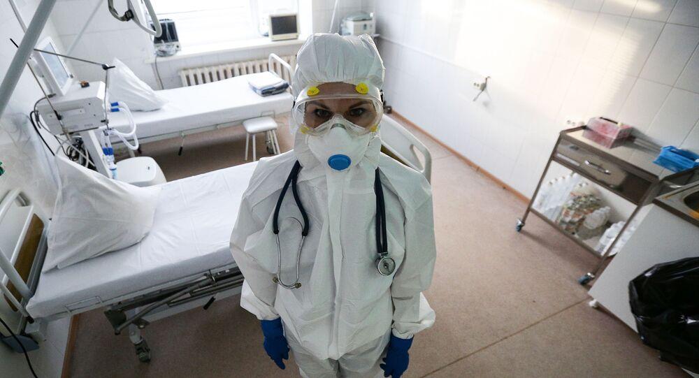hastane, doktor, koronavirüs, Rusya
