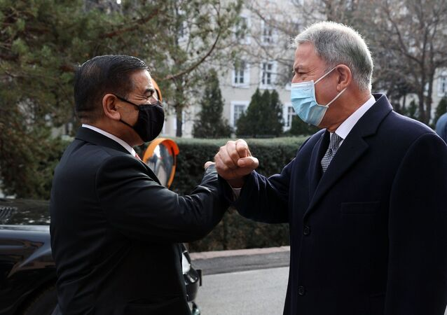Hulusi Akar - Irak Savunma Bakanı Jumaah Enad Saadoonn