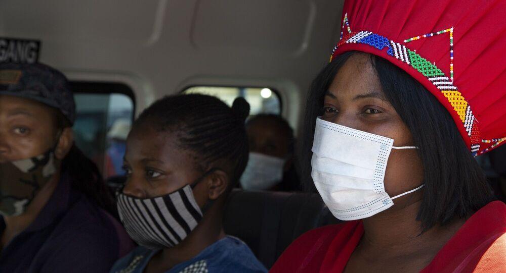 Güney Afrika - maske - koronavirüs
