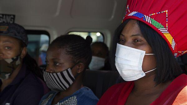 Güney Afrika - maske - koronavirüs - Sputnik Türkiye
