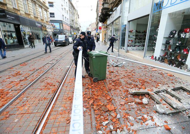 Hırvatistan - deprem