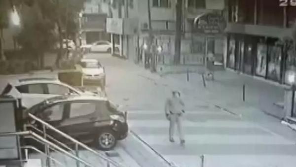 Aylin Sözer'in katilinin cinayet öncesi görüntüleri ortaya çıktı - Sputnik Türkiye