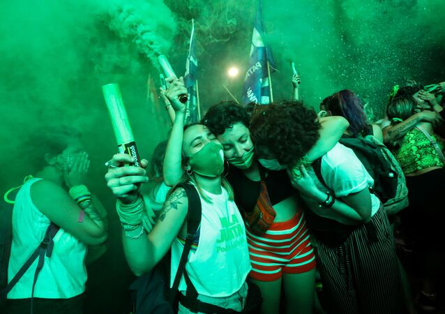 Arjantin'de kürtaj protestoları