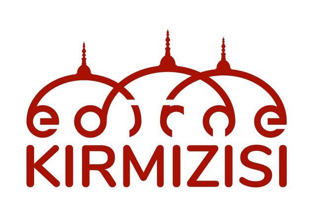 'Edirne kırmızısı' logosu