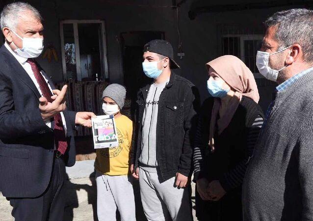 Adana Büyükşehir Belediye Başkanı Karalar'dan 199 köye ücretsiz internet