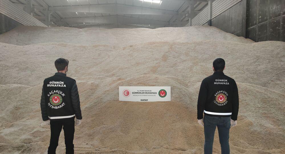 5 bin ton genetiği değiştirilmiş pirinç, Hatay