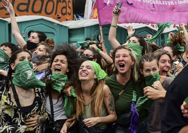 Arjantin'de kürtajın yasallaşması