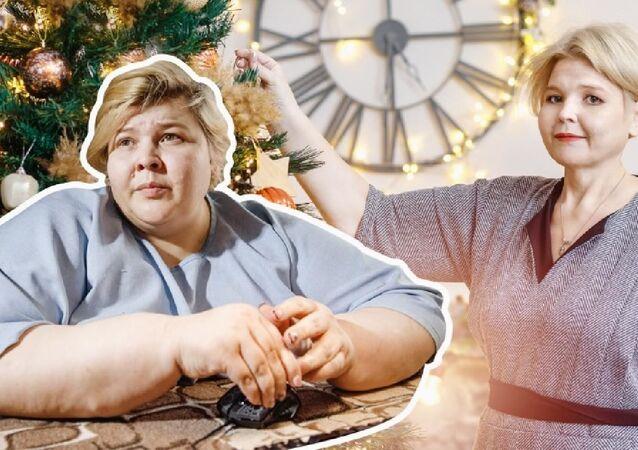Rusya'nın 'en şişman kadını', 150 kilo zayıfladı