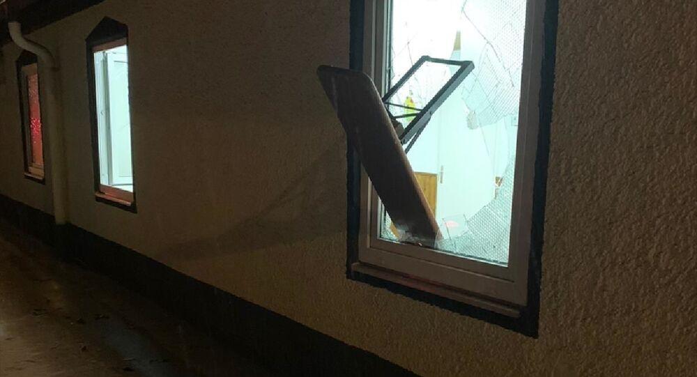 Almanya'da aynı camiye iki hafta içinde ikinci kez saldırı düzenlendi