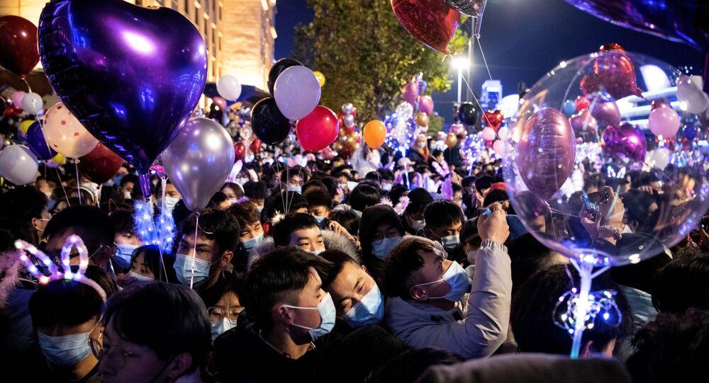 Vuhan'da yeni yıl kutlamaları