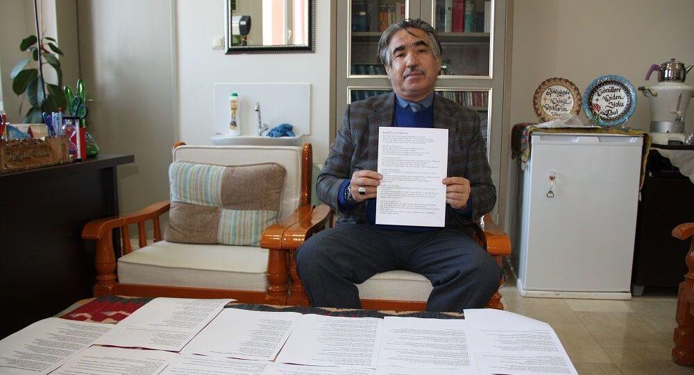 Cumhurbaşkanı Erdoğan için 100 kıtalık şiir yazdı