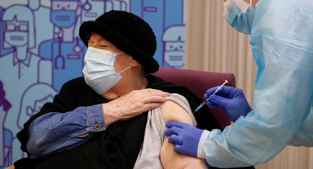 Milagros Garcia - Pfizer-BioNTech  aşısı - koronavirüs - Kovid-19 - aşı - İspanya - Lleida