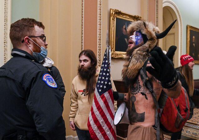 ABD- Kongre- protesto