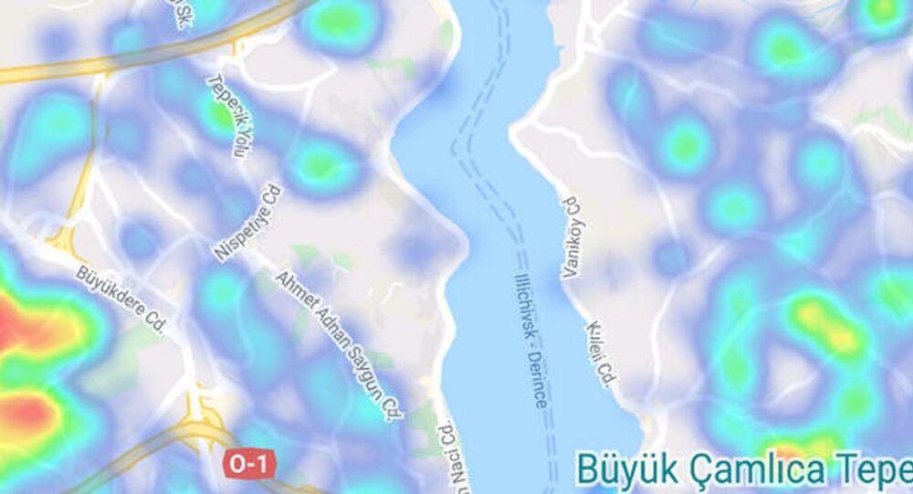 İstanbul koronavirüs hartiası