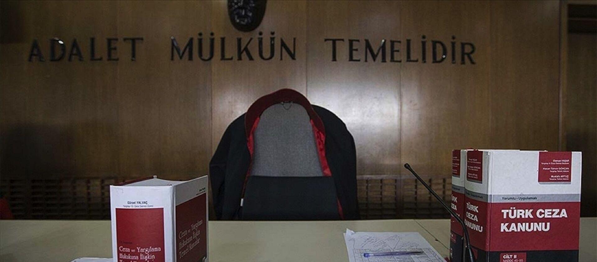 Türk Ceza Kanunu - mahkeme - yargı - Sputnik Türkiye, 1920, 29.06.2021