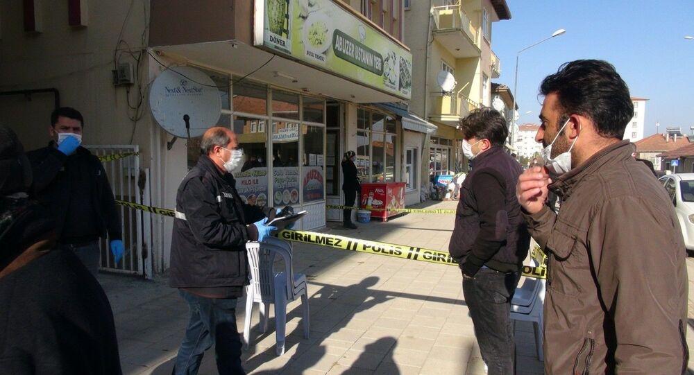 Malatya'da hindi kestikten sonra bıçağın üzerine düşen adam hayatını kaybetti