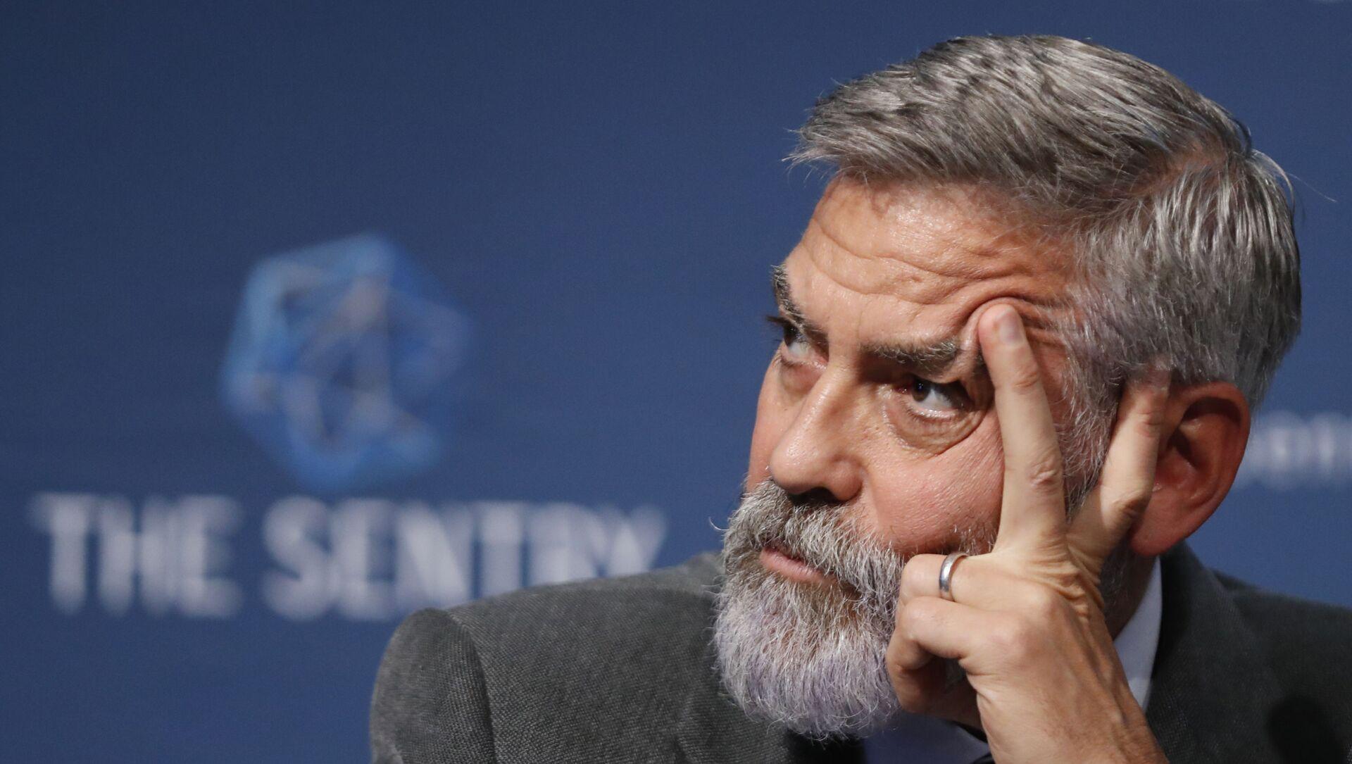 George Clooney - Sputnik Türkiye, 1920, 29.07.2021