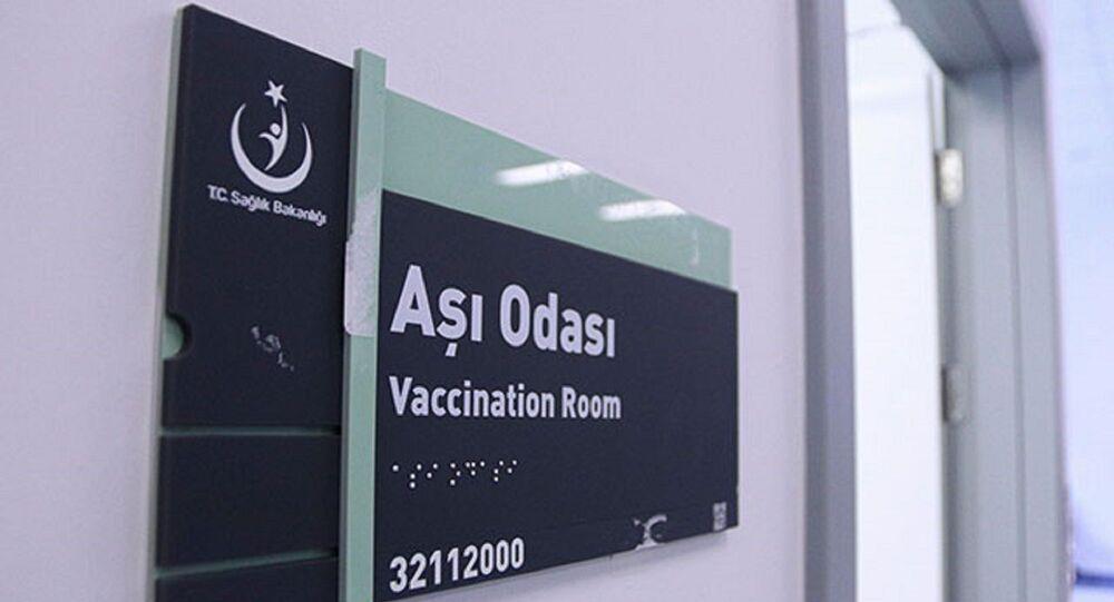 Ankara Şehir Hastanesi'nde 'Aşı Uygulama Odası'