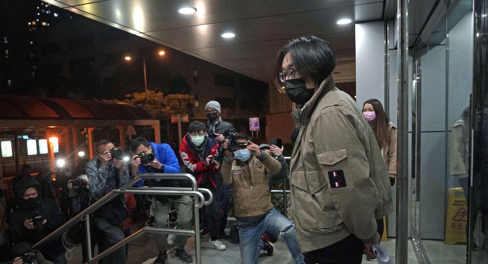 Hong Kong'daki gözaltılar