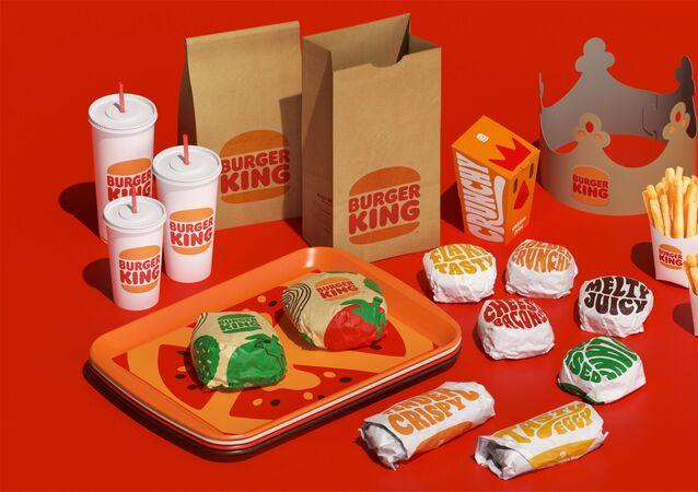 Burger King, 2021 yılında eski logosuna geri döndü.