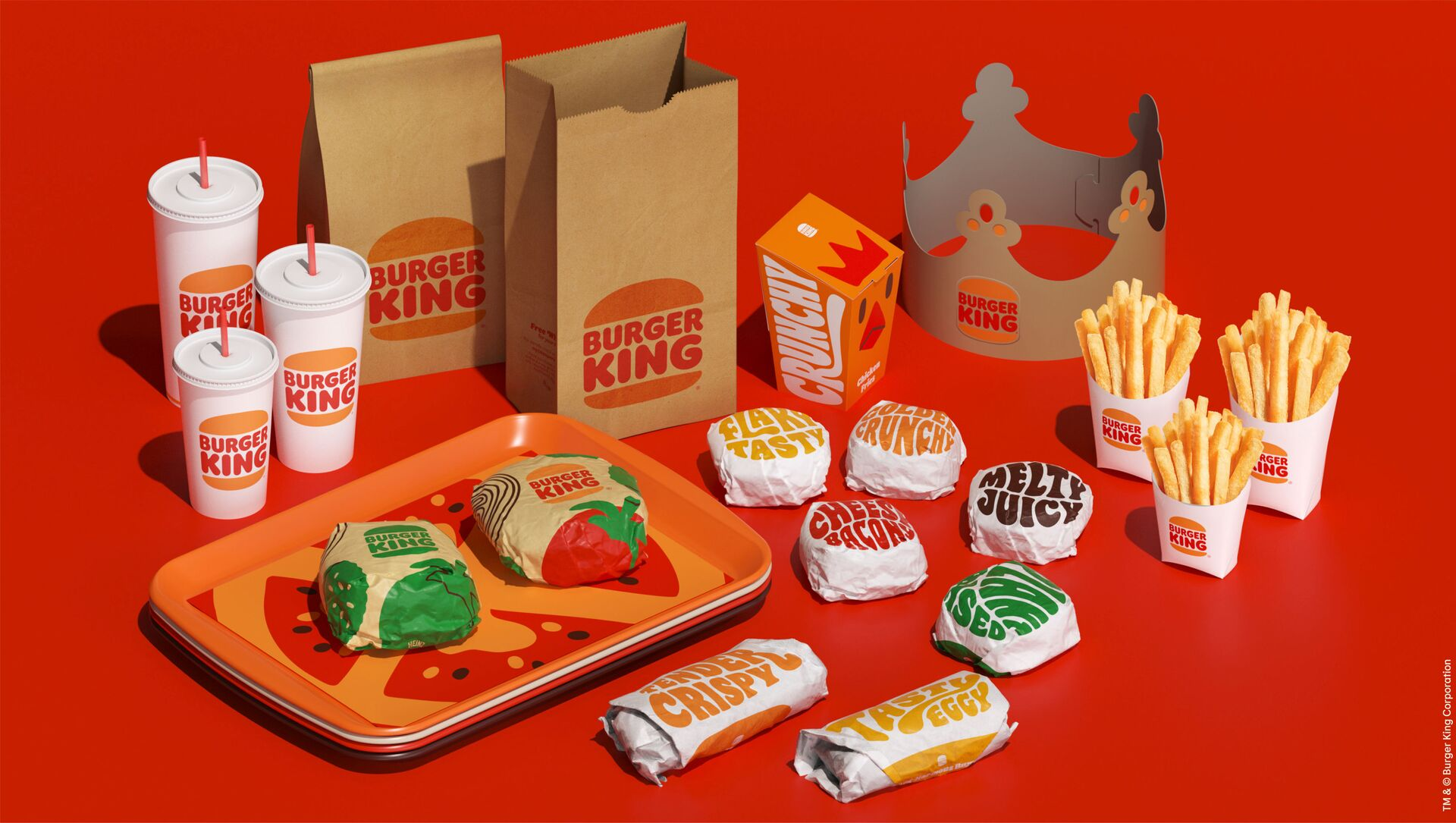 Burger King, 2021 yılında eski logosuna geri döndü. - Sputnik Türkiye, 1920, 29.07.2021