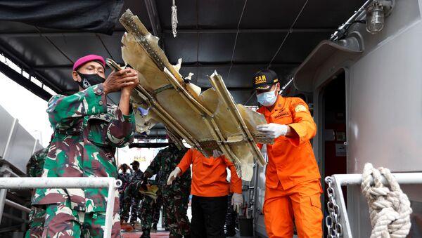 Endonezya'da uçak kazası - Sputnik Türkiye