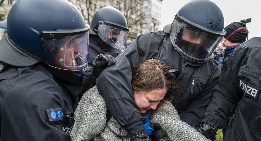 Almanya protesto
