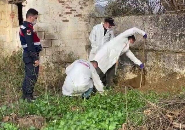 Aydın'da patlamamış havan topu mermisi bulundu