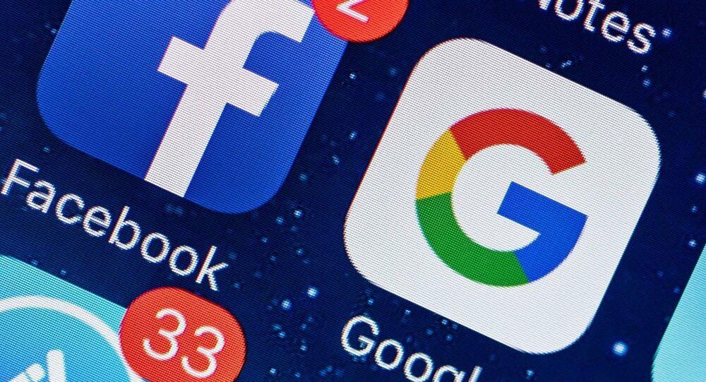 Facebook, Google, Sosyal medya