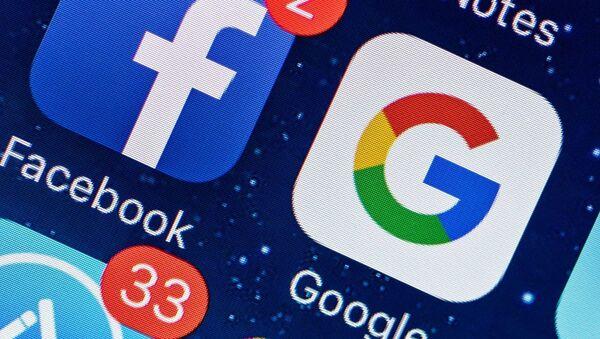Facebook, Google, sosyal medya - Sputnik Türkiye