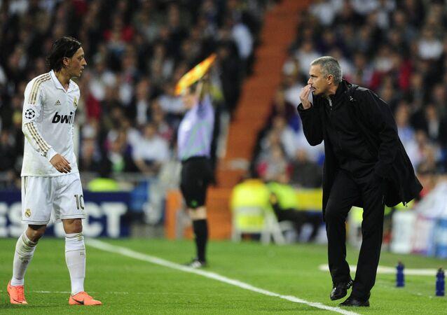 Mesut Özil, Jose Mourinho, Real Madrid, 2012