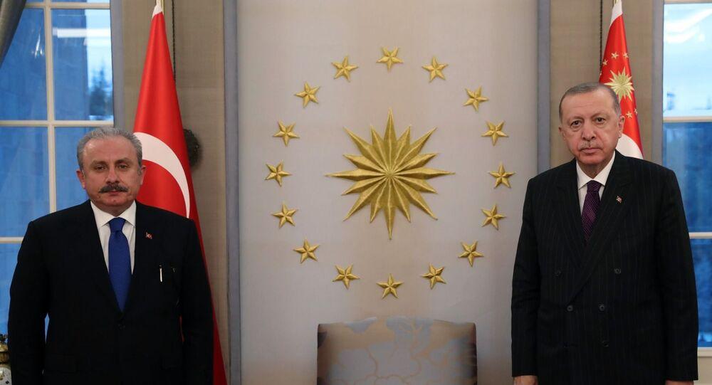 Recep Tayyip Erdoğan - Mustafa Şentop