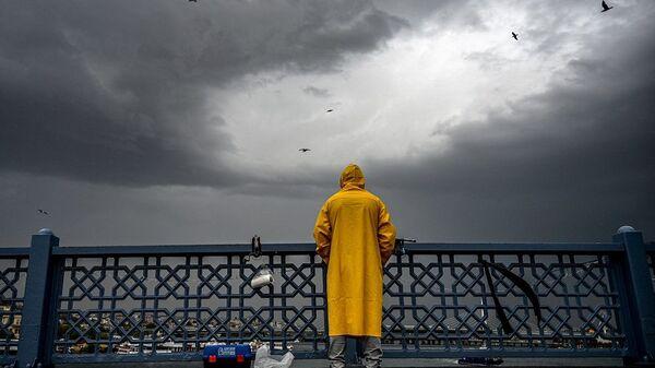 İstanbul, yağmur, yağmurlu hava, sağanak,  - Sputnik Türkiye