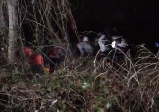 Sakarya'da çanta içinde et ve kemik parçaları bulundu