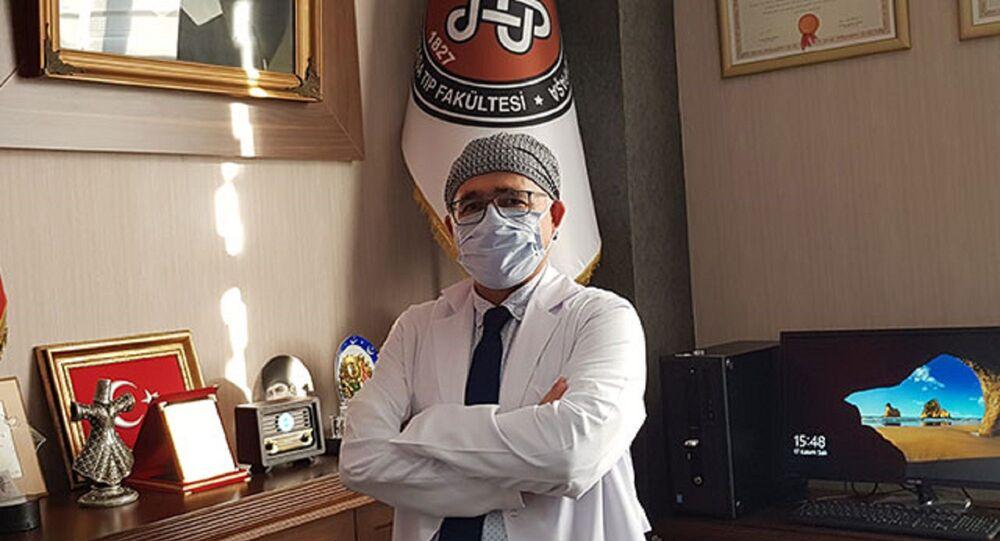Cerrahpaşa Tıp Fakültesi Dekanı Prof. Dr. Sait Gönen