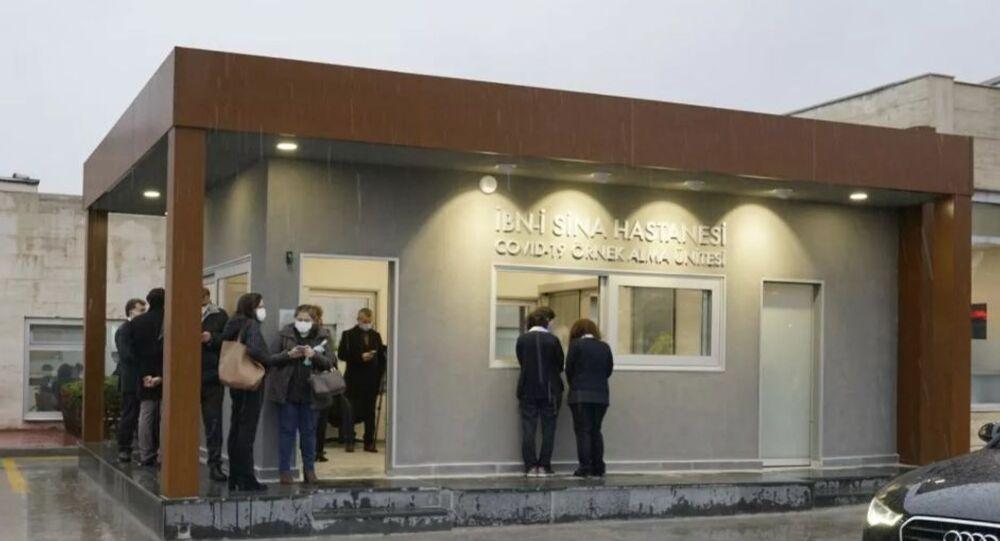 Akıllı COVID-19 Test Merkezi, İbni Sina Hastanesi