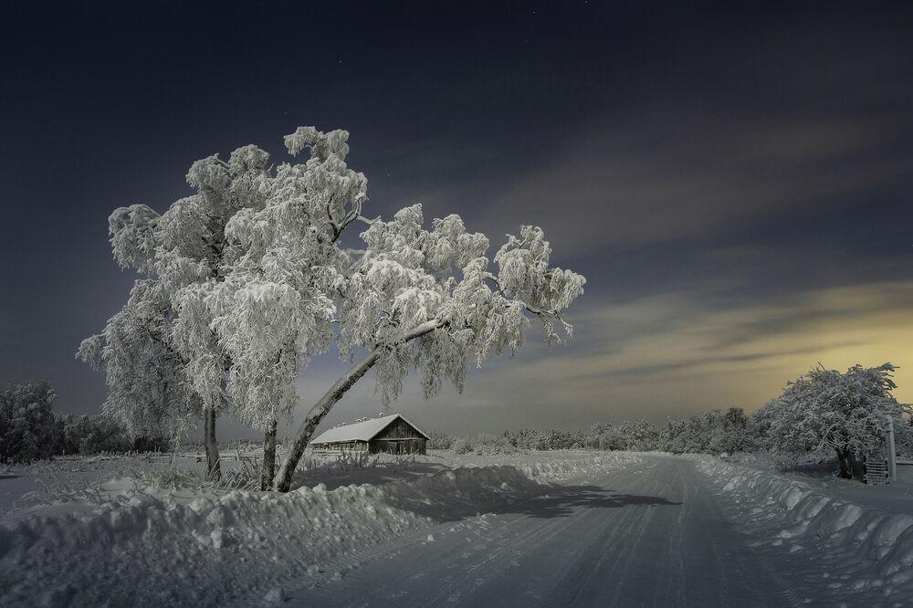 Köyde'... Murmansk bölgesi Apatitı kenti