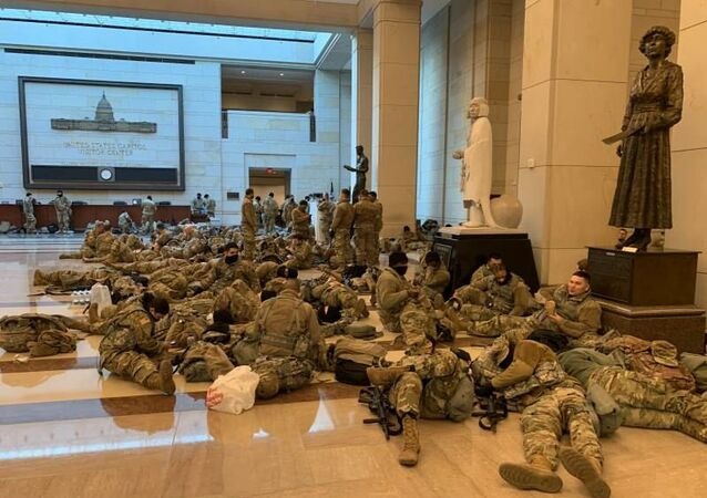 ABD - Washington - askerler