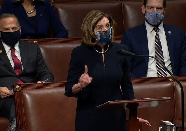 ABD Temsilciler Meclisi Başkanı Pelosi